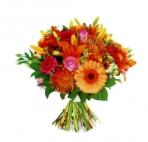 Прекрасные букеты из самых разных цветов (38)