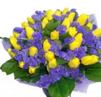 Прекрасные букеты из самых разных цветов (32)