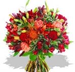 Прекрасные букеты из самых разных цветов (43) смайлики картинки