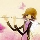 Девочка играет на флейте картинка смайлик