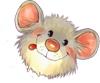 Мышка довольна