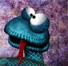 Смайлик Язык змеи аватар