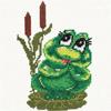 Лягушки, змеи, крокодилы смайлик картинка