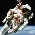 Смайлик Космонавт передвигается аватар