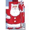 Дед Мороз с волшебным посохом