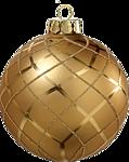 Новогодняя игрушка - шарик золотой смайлики картинки