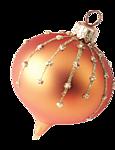 Новогодняя игрушка-шарик вытянутый розоватый смайлики картинки
