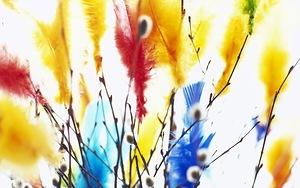 Картинка Вербное воскресенье. Вербочка анимация