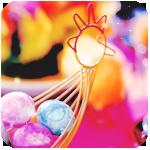 Смайлик Пасхальные яйца на интересной подставке аватар