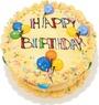 С днем рождения! Надпись на торте