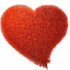 Смайлик Пушистое сердце аватар