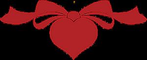 Гиф gif Красивое сердечко-разднлитель рисунок