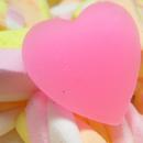 Картинка Сладкое розовое сердце анимация