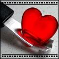 Смайлик Нож в сердце аватар