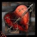 Картинка Срдце заштопано, заколото булавкой. Сделала себе больно, ... анимация