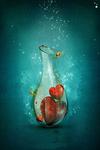 Смайлик Сосуд с сердечками аватар