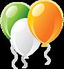 Три воздушных шарика смайлики картинки