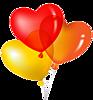 Три шарика-сердца смайлики картинки