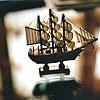 Картинка Декоративная фигурка корабля анимация
