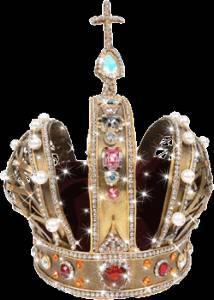 Гиф gif Прекрасная корона рисунок
