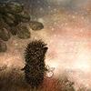 Гиф gif Ежик в тумане рисунок